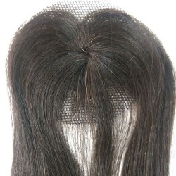 Mini Closure 6cm Natural Liso