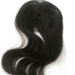 Mini Closure 6cm Natural Ondulado