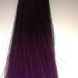 """Keratin U Tip 22"""" Straight Col.T1/Purple"""