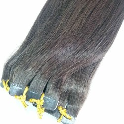 """Tape Hair 14"""" Straight Color 2"""