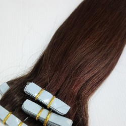 """Tape Hair 14"""" Straight Color 4"""