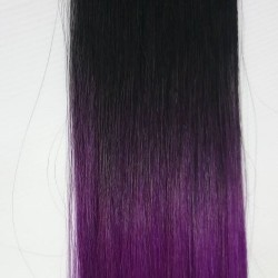 "Tape Hair 20"" Straight Color T1/purple"