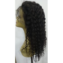 Noa Lace Wig Natural Rizada...