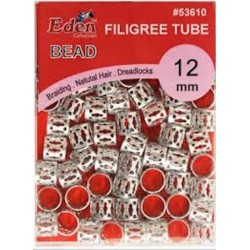 PVC Filgree Tubes - Silver...