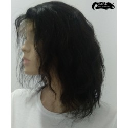 Melania Natural Lace Wig Wave
