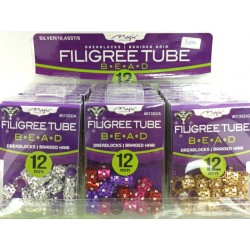 Filigree Tube 12mm With...