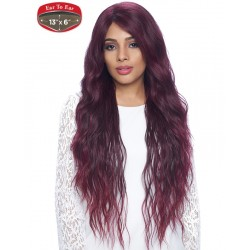 FLS53 Synthetic Lace Wig