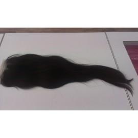 Top Closure 10*10cm natural liso 40cm