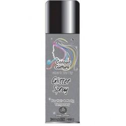 Spray De Color Purpurina Plateada 200ml