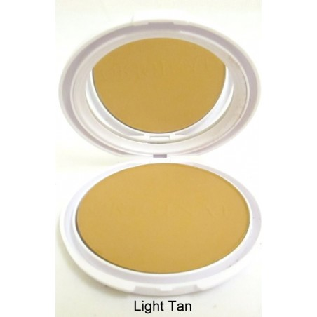 Island Beauty Polvo Compacto Light Tan